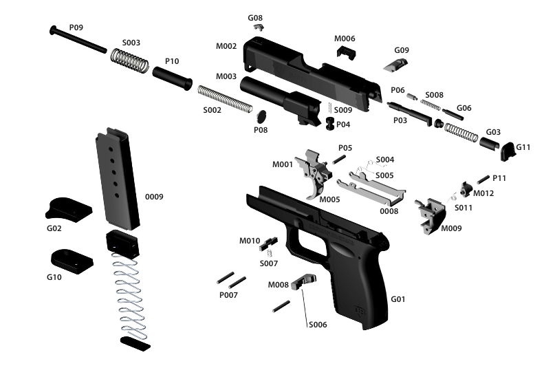 Db9 Pistol Diagram Illustration Of Wiring Diagram